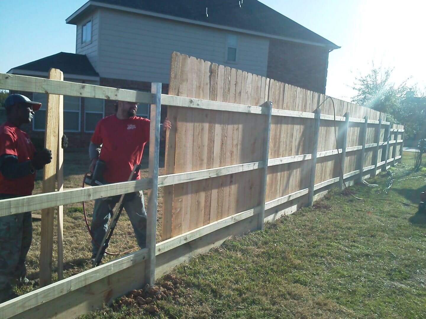 Fencing Contractor U Need Gutters Amp More In Cypress Tx